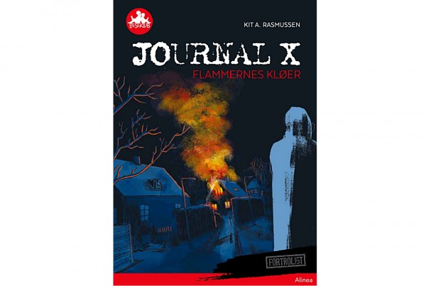 Journal X - Flammernes kløer cover