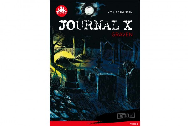 Journal X - Graven cover
