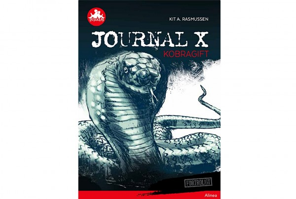 Journal X - Kobragift cover